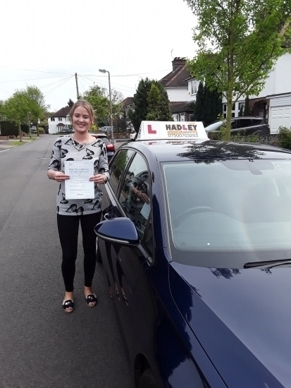 23/4/2018 - Truly recommend Paul Hadley. Brilliant and friendly instructor. I really couldn´t have passed without his help. He was very supportive with every aspect including my theory, and getting me passed my practical driving test with 0 faults! 5 star+!