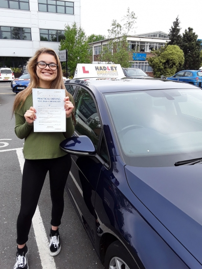 23/05/2018 - Thank you so so much Paul for all the help, advice and support you have given during our driving lessons. You are a great instructor and I would highly recommend you to anyone looking to learn to drive. With thanks to you I passed my practical driving test, and for that I am so happy an