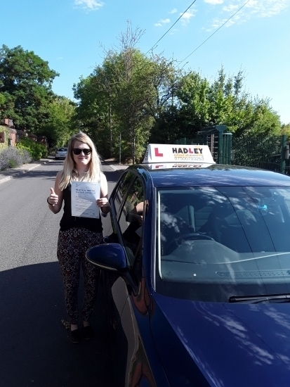 24/07/2018 - Hadley School of Motoring is an excellent choice for any learner driver. Paul was a very reliable instructor who not only enabled me to pass the practical driving test but also gave me the skills to be a lifelong safe and confident driver! Thanks Hadley SoM!