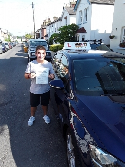 25/07/2018 - Thank you so much Paul for helping me pass my driving test 1st time! Paul´s lessons were always enjoyable and he was so patient and calm. The best thing about his lessons is that they were fun; which is why I always looked forward to them and learnt so much. I will definitely be r