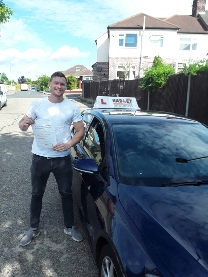 08/08/2018 - Couldn´t recommend enough. Paul was a top instructor and enjoyed every lesson I had. Lessons were structured and thorough, equipping me with the confidence I needed to pass first time!