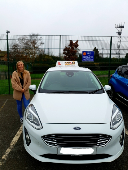 """Paige had been an Approved Driving Instructor since September 2020 following 6 months of teaching on her trainee license. She is a close friend of the family and has come from a teaching background, she is looking forward to putting her new skills to use.<br /> <br /> """"I originally came from a performing ba"""