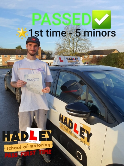 17/01/2020 - lovely teacher who´s really helpful. Would highly recommend to anyone learning to drive. Got me to pass first time!