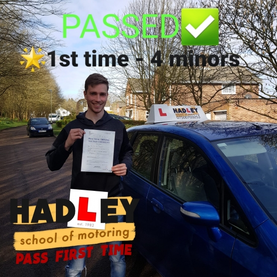 16/03/2020 - Mike you were an excellent instructor, you were able to calm me when I was nervous. I enjoyed  every lesson! Thank you so much!