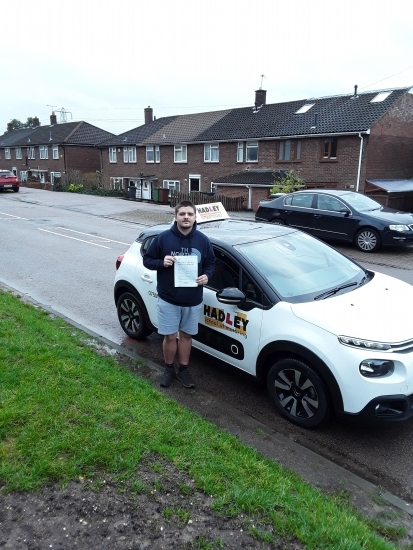 19/12/2019 - Choosing Hadley School of Motoring was the best decision when it came to learning to drive. Lessons were planned, structured, effective but most importantly enjoyable! Thanks again Paul