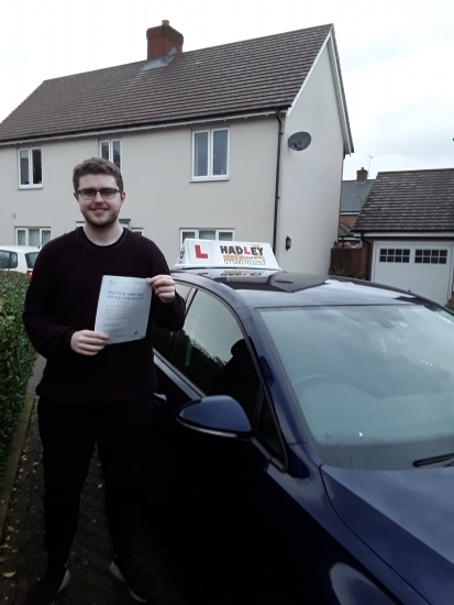 22/11/2019 - Paul was a great instructor. Prepared me to be a good driver not just to pass the test! Would definitely recommend to anyone learning to drive