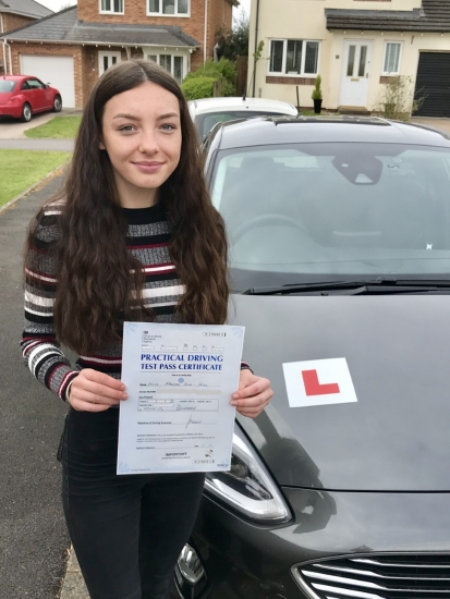 Thank you so much Pete! You've helped me gain confidence in driving and settled my nerves. Ive enjoyed learning to drive with you, you always made sure i knew what to do to further improve and made me feel relaxed even when doubting myself. So pleased with the result yesterday😊 Again, big thanks:)