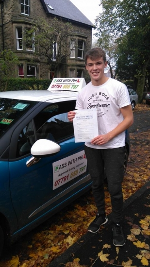 Huge congratulations to Ben who passed his driving test today at the first attempt and with only 7 driver faultsAnother one to join the exclusive club of passing both theory and practical first time Itacute;s been a pleasure taking you for lessons Enjoy your independence and stay safe