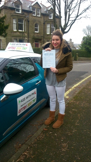 Huge congratulations go to Beth who passed her driving test today in Buxton and with only 5 minor faults A great drive and fully deserved well done Itacute;s been great meeting you and helping you achieve your goal Enjoy your independence and stay safe All the best Beth take care