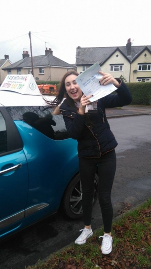 Huge congratulations to Bobbi who passed her driving test today in Buxton3rd January and with only 2 driver faults The first driving test pass of 2017<br />