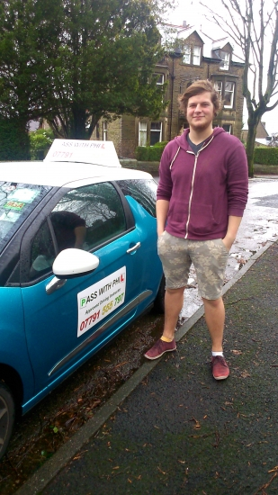 Massive congratulations to James on passing his test this morning and with only 1 minor fault Enjoy your independence and stay safe Good luck James