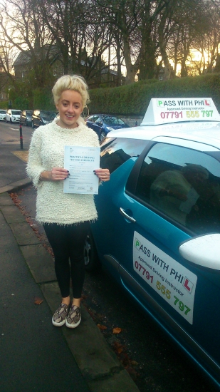 Huge congratulations to Emelie who passed her driving test today 5th December at the first attempt To say she was nervous was an understatement but she had an amazing drive and only 2 driver faults She joins that exclusive club of having passed her theory and driving test 1st time It has been an absolute pleasure meeting you and helping you to learn to drive Enjoy your independence and stay