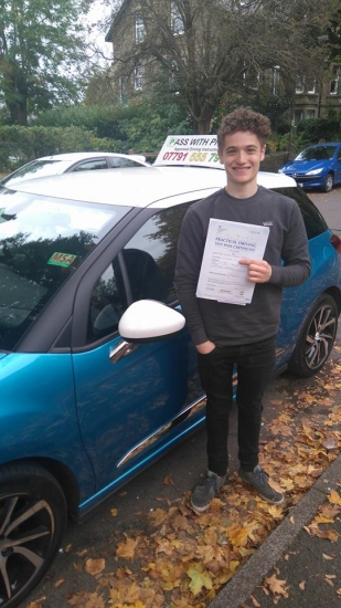 Huge congratulations to Ethan drummer in the band acute;Oddity Roadacute; and now a pink license holder Ethan passed his driving test today 24th October in Buxton at the first attempt and with only 4 driver faults Itacute;s been an absolute pleasure taking you for lessons and helping you achieve your goal Enjoy your independence and stay safe and best of luck with the band