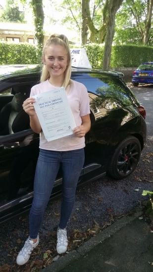 Huge congratulations go to Harriet who passed her test today in Buxton at the first attempt and with only 4 driver faults She joins the exclusive club of passing both theory and driving test first time Itacute;s been an absolute pleasure taking you for lessons and helping you achieve your goal Enjoy your independence and stay safe
