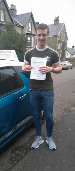 Another first time pass today for Jamie<br /> <br /> Huge congratulations after passing first time and with only 3 driver faults He joins the exclusive club of passing both theory and practical tests first time Itacute;s been an absolute pleasure taking you for lessons Enjoy your independence and stay safe