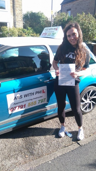 A great start to October with Jordan passing her driving test today in Buxton and with only 5 driver faults You were amazing congratulations and well done Itacute;s been an absolute pleasure taking you for lessons and helping you achieve your goal Enjoy your independence and stay safe