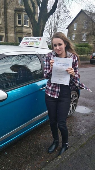 Out with the green and in with the pink Huge congratulations to Kirsty who passed her test today in Buxton10th January and with only 5 driver faults You managed to stay calm and contain the nerves well done Itacute;s been an absolute pleasure taking you for lessons Enjoy your independence and stay safe