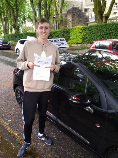 Huge congratulations go to Luke who passed his driving test today in Buxton and with only 4 driver faults Well done great drive Its been an absolute pleasure taking you for lessons enjoy your independence and stay safe