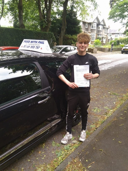 A 1st time pass today for Matt in Buxton and with only 6 driver faults You worked hard for that Matt well done Itacute;s been an absolute pleasure taking you for lessons Enjoy your independence and stay safe Best wishes