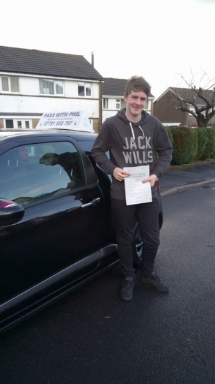 Massive congratulations to Matt who passed his driving test today in Buxton at the first attempt He joins the exclusive club of passing both theory and driving test first time and matches his brother James who also passed with me 18 months ago Itacute;s been an absolute pleasure taking you for lessons Enjoy your independence and stay safe