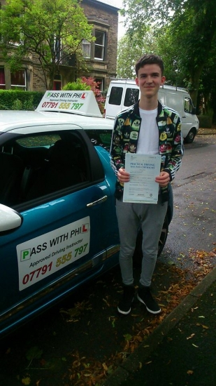 Huge congratulations go to Nathan who passed his driving test today in Buxton at the first attempt and with only 5 faults Another one to join the club of passing both theory and driving test first time Youacute;ve been an absolute star and itacute;s been great helping you achieve your goal Enjoy your independence and stay safe
