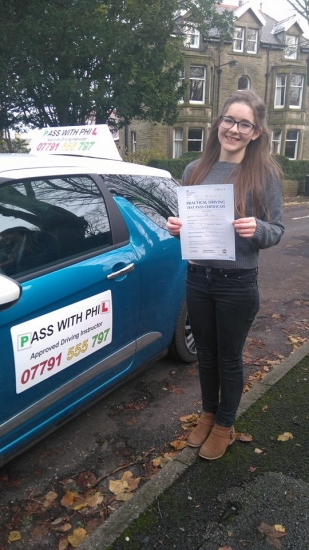 Out with the green and in with the pink Another first time pass for one of the most nervous learners I have ever had<br />