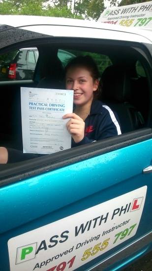 Huge congratulations go to Sadie who passed her driving test this morning 8715 in Buxton and with only 2 driver faults Just want to say itacute;s been a pleasure meeting you and Iacute;ve enjoyed every minute of helping you achieve your goal you have worked so hard Enjoy your independence and stay safe Hopefully see you soon for a motorway lesson