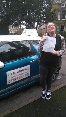 Out with the green and in with the pink Massive congratulations to Sarah who passed her test in Buxton today 29th January All the hard work has paid off Itacute;s been an absolute pleasure taking you for lessons and helping you achieve your goal Enjoy your independence and stay safe Happy driving