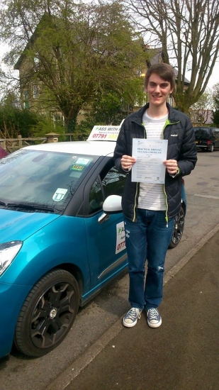 Massive congratulations to Sean on passing his driving test today in Buxton A great drive well done Itacute;s been a pleasure meeting you and helping you achieve your goal Enjoy your independence and stay safe All the best Sean take care