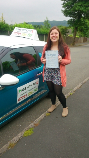 Huge congratulations to Sienna who passed her driving test first time this morning 18th June with only 5 driver faults You thoroughly deserve today as you have worked so hard and one of the few to pass both theory and driving test first time Its been a pleasure meeting you and teaching you to drive Weve had a great time together and gunna miss you Well done again and enjoy your independen