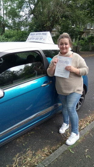 Another first time pass for Toni in Buxton this morning You held your nerve and nailed it congratulations You join the exclusive club of passing both theory and driving test first time Itacute;s been an absolute pleasure taking you for lessons and helping you achieve your goal<br /> <br /> Enjoy your independence and stay safe