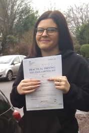 I was very nervous when starting my driving lessons with Phil due to poor mentoring from another driving instructor. Phil has been very patient and has a funny, genuine personality that put me at ease straight away. Phil is an amazing driving instructor and I couldn't recommend him enough! I cant say the same for the bad jokes...😂😂😂<br /> Thank you so much for all of your help!<br /> Chloe x