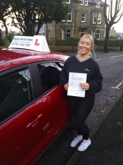 So my last driving test of 2020 and an early Christmas present for Emily-Kate, who passed her test today in Buxton at the first attempt and with only 3 driver faults. She joins my exclusive club of passing both theory and driving tests first time.<br /> Well done Emily, brilliant drive. Its been an absolute pleasure taking you for lessons, enjoy your independence and stay safe 😁👍