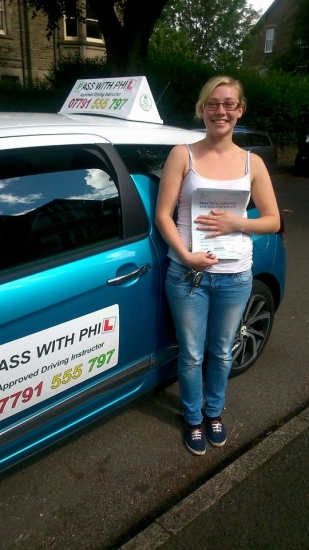 Another 1st time pass this time for Saskia Massive congratulations for passing this morning in Buxton 27th August and with only 6 faults She joins that exclusive club of passing both theory and driving test first time Itacute;s been an absolute pleasure meeting you and helping you achieve your goal Enjoy your independence and stay safe All the best at Sheffield Hallam university