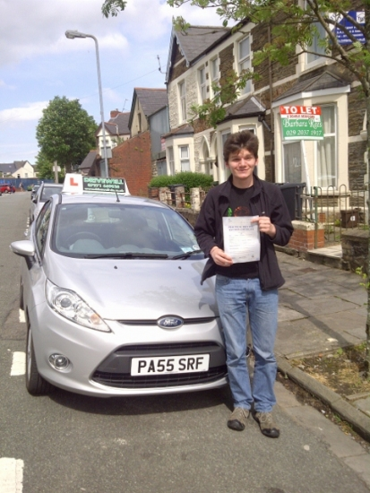 Joseph Setchfield proudly holding his Pass Certificate after passing first time today It was great to witness a smooth safe drive with only 3 driver faults A great reward for all his perseverance always keen to try hard listen and learn in between his studying for A Levels Congratulations and well done again Enjoy safe driving Look forward to seeing you fo Pass Plus soon 14th June 201