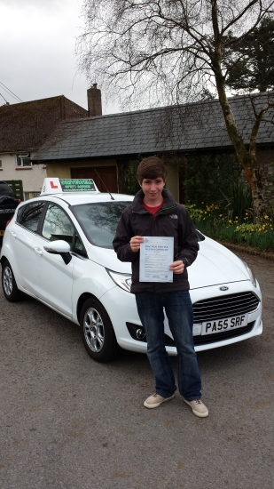 Joel Pell proudly holding her Pass Certificate after passing first time today with a safe drive with 4 driver faults A great result after fitting in lessons around other commitments and exams Well deserved from such a responsible and conscientious approach to learning and driving Well done and congratulations again Even the examiner was complimentary to Joel and Drivewell Driving Academy re