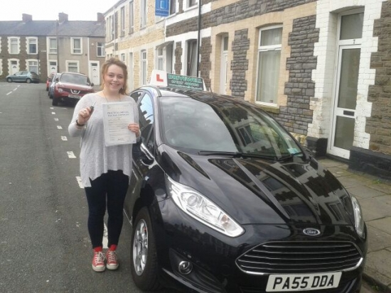 Kirsty Green delighted to be holding her Pass Certificate following a brilliant faultless and safe drive NO DRIVER FAULTS Not many candidates can boast having a driving test with no recorded faults but Kirtsy can - fantastic A great result after listening to Salvina and following her advice Congratulations and well done again Enjoy your driving Congratulations to Salvina too Something