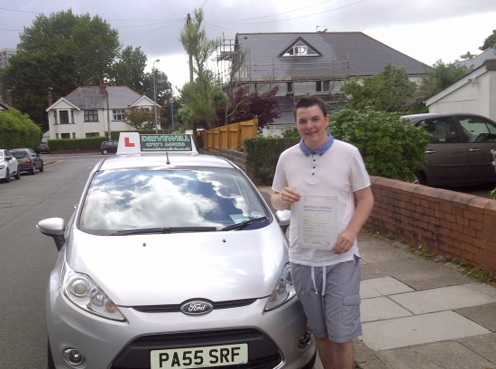 Oliver Cummings proudly holding his Pass Certificate after passing his test today A great result after juggling school exams and work Well deserved for all your hard work and positive attitude to learning The examiner complimented Oliver on the standard of the drive - always nice Congratulations again and good luck for safe driving Look forward to seeing you for Pass Plus 24th July 20