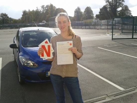 Congratulations Jennifer everyone here at L 2 N were delighted you passed after all the hard work you put in great stuff