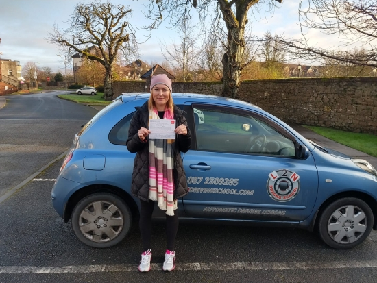 Congratulations to Julia Eduardova on passing her test first time today at the Castlemungret test centre. Julia worked hard, got up to standard and passed today no problem. Well done Julia, that´s great stuff