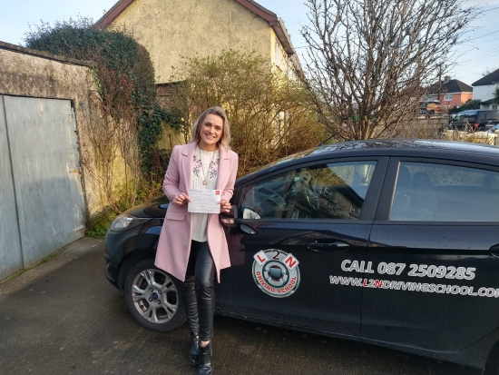 Congratulations to Tara Hurley on passing her driving test FIRST TIME at the Castlemungret test centre today. Everybody said Tara wouldn´t drive a nail but I said NO! Tara is alright and she proved that today getting just one fault on the test. Well done Tara we´re all proud of you