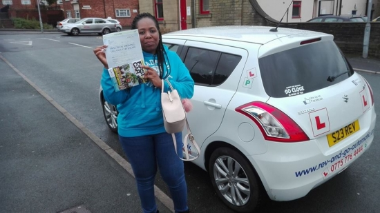I have no words to describe how l feel right now I am so over the moon for passing my test first time in an automatic car I couldnacute;t have done it without you Stuart thank you for your time and patience You are really a good teacher you took your time to simplify things for me and kept me calm always Keep on with the good work you are doing Thank you so much