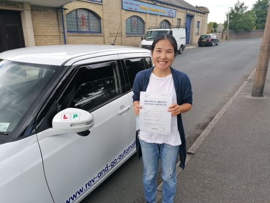 Would definitely recommend Stuart if you want to have high quality driving lessons with a friendly and engaging tutor. He is patient and tailors the lessons to learning needs, encouraging at every step along the way. Without such a great teacher there is no way I would have passed!