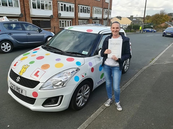 Thank you for your time and patience I was not always the most confident but you encouraged me to the end I honestly donacute;t think I would have passed my driving test without you You are a great instructor who I would recommend to others Thanks a million Tammi