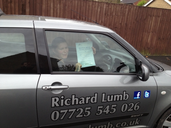 Very good driving instructor had lots of confidance in me even when i didnt was very patientwould recomend to anyone i passed with 4 minors which i was very happy with<br /> <br /> November 2012