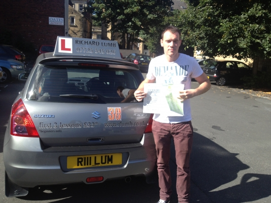 Richard is a great guy and a great driving instuctorhe is friendly easy going and a good teacher i passed first with NO minors and couldnt be happier