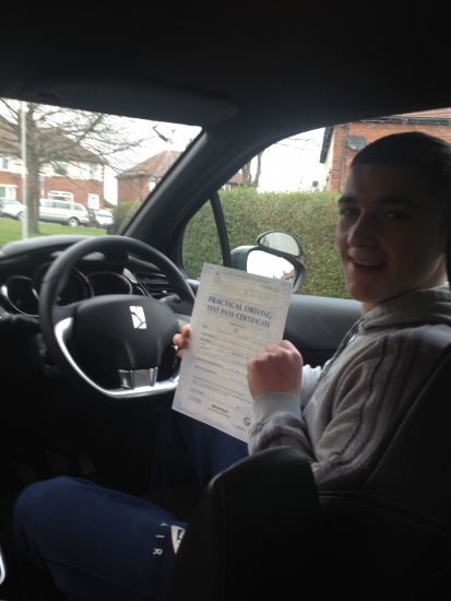 Fantastic instructor I passed my test first time with just one driving fault couldnacute;t be happier thanks to Richards first class tuition