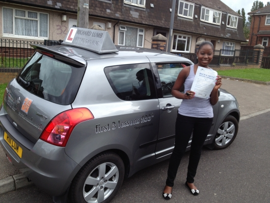 Great instructor i would recommend to anyonei passed my practical test first time thanks to Richard