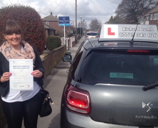 Today I passed my driving test with only 1 minor I wouldnacute;t have been able to do this if it wasnacute;t for Richard he puts you at ease he is very patient and very reassuring lessons are also excellent value for money 5 stars just isnacute;t enough to rate him