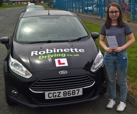I really enjoyed learning to drive with Robinette Driving. Colin was always calm and patient and explained everything in a straightforward way. I would recommend Robinette Driving lessons to anyone. Colin is a fantastic instructor.